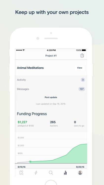 Kickstarter screenshot-4