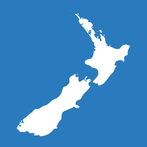 Here and there+ New Zealand (with offline maps) icon