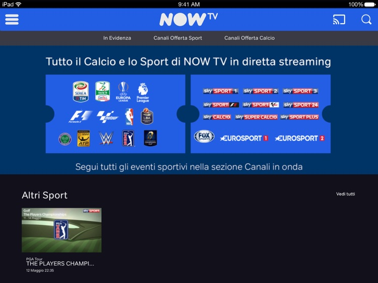 NOW TV per iPad screenshot-4