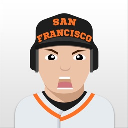 San Francisco Baseball Stickers & Emojis