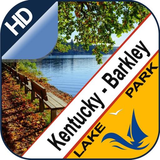 Kentucky & Barkley offline lake and park trails