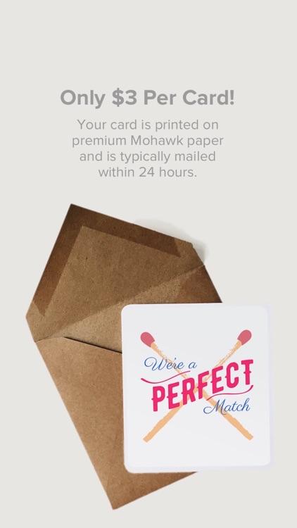 Felt: Birthday & Greeting Cards & Thank You Card