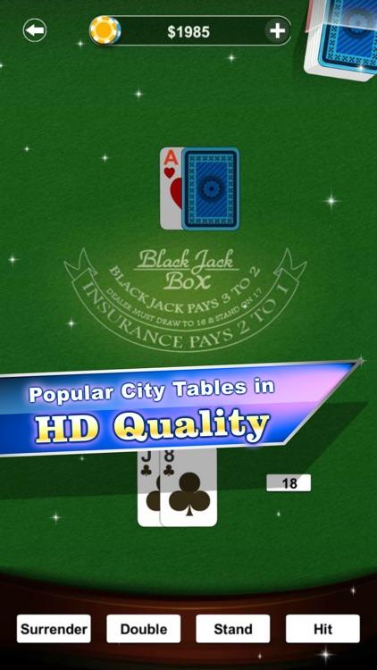 Blackjack Box Casino Card Game