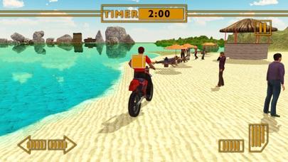 Water Surfer Fast Food Bike Delivery & 3D Sim screenshot three