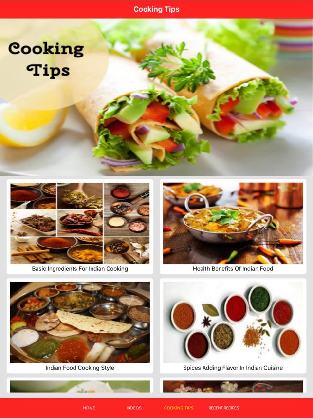 Indian recipe on the app store indian recipe on the app store forumfinder Gallery