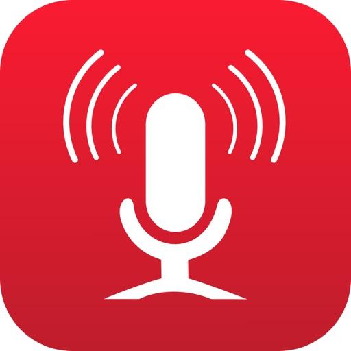 Smart Recorder and transcriber app logo