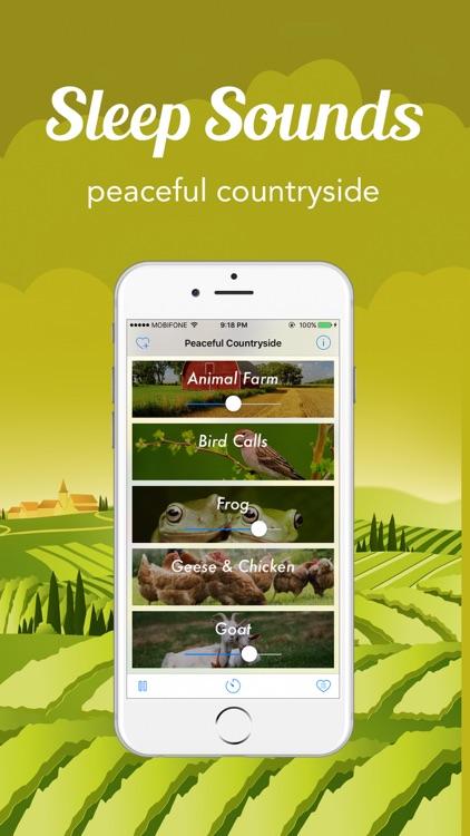 Sleep Sounds - White Noise : Peaceful Countryside