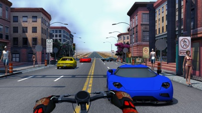 Bicycle Stunt Rider - Endless Traffic Racer
