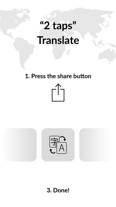 XYZ Translate - Browser Widget Screenshots
