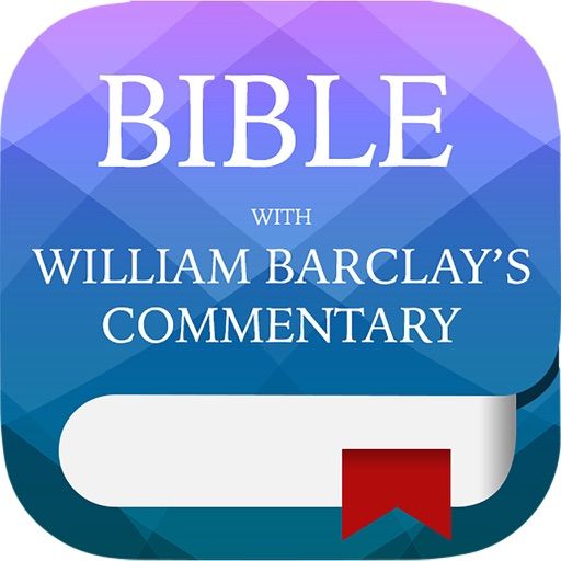 KJV Study Bible - with William Barclay Commentary
