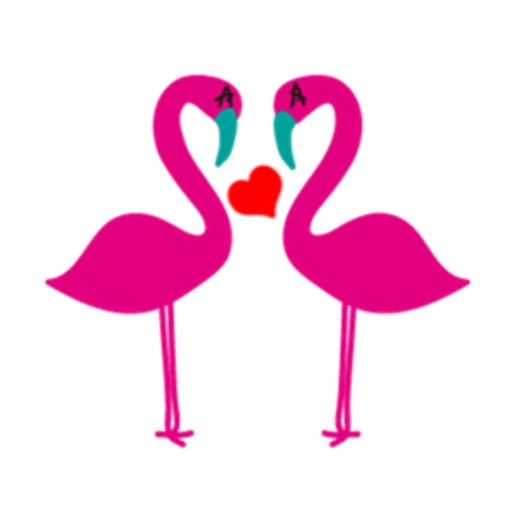 Flamingo Flamoji Stickers