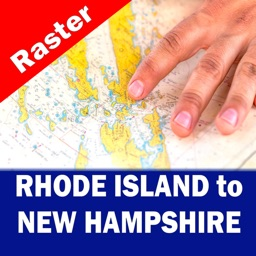 RHODE ISLAND to NEW HAMPSHIRE - RASTER N. CHARTS