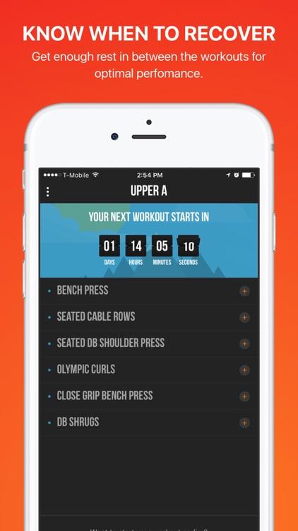 BAU5 Workout: GYM Weight Training Routine for MEN screenshot-3
