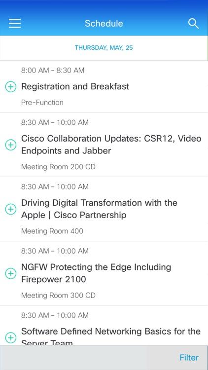 Cisco Events App screenshot-4