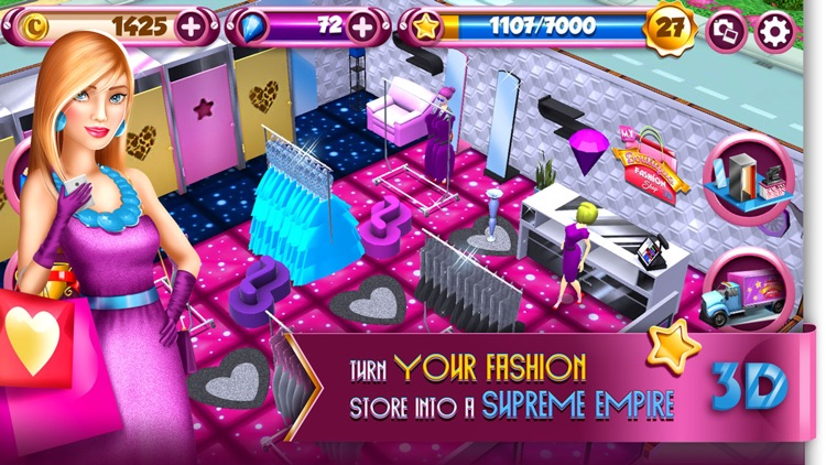 My Boutique Fashion Shop Game