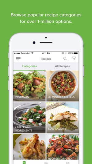 Zipongo healthy recipes on the app store screenshots forumfinder Gallery
