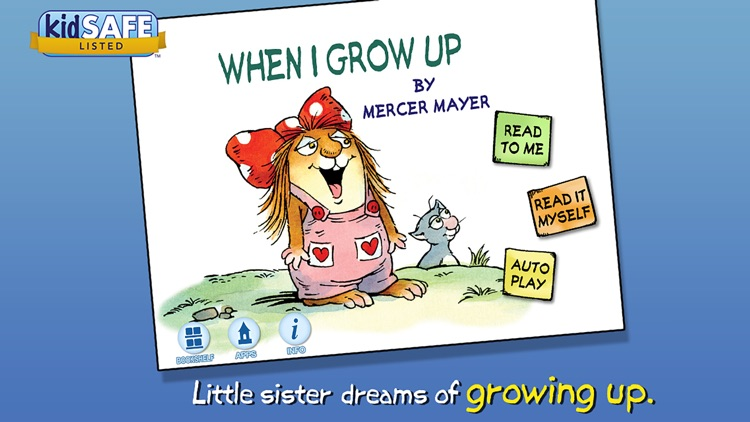 When I Grow Up - Little Critter