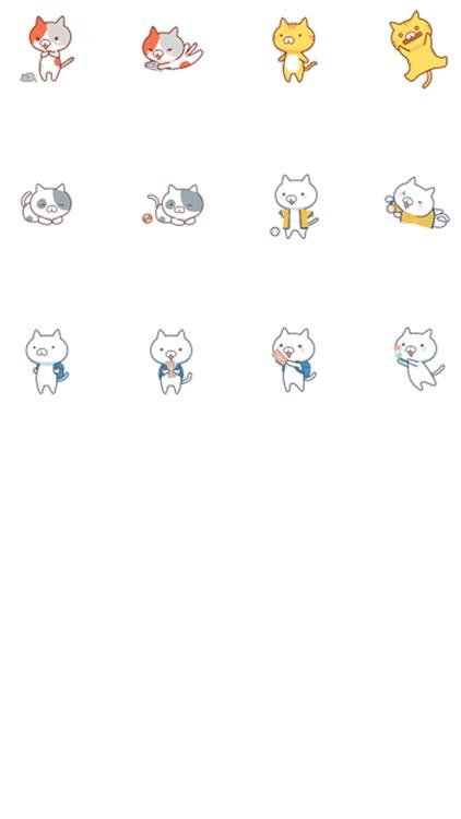 ねこほいステッカー - カワイイ猫たち screenshot-3