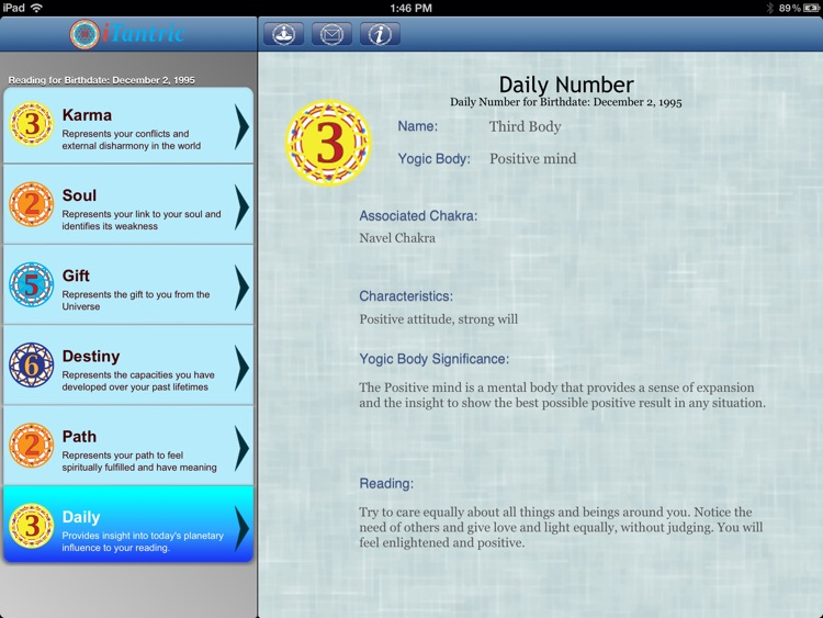 iTantric Yogic Numerology HD screenshot-3