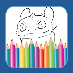 Pro Coloring Game For Cartoon How To Train Your Dragon Edition