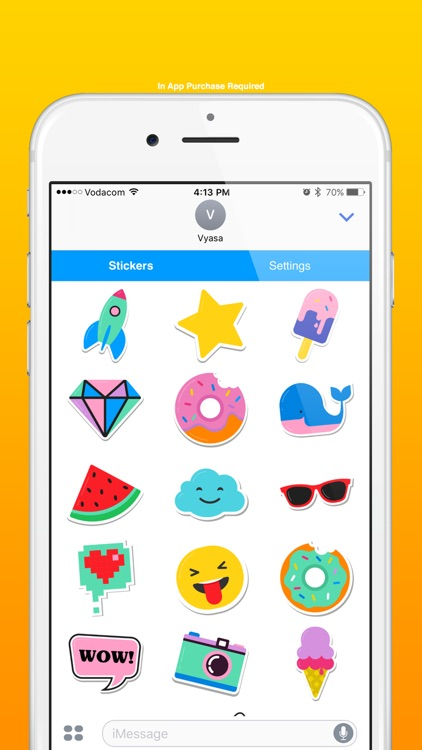 Art Emoji Stickers for Texting
