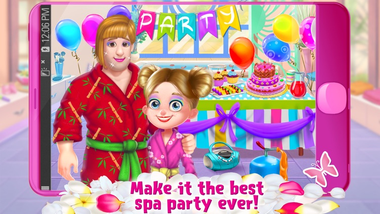 Spa Day with Daddy - Makeover Soapy Adventure screenshot-4