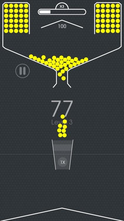 100 Balls - Tap to Drop in Cup screenshot-3