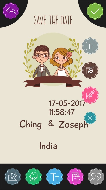 Custom Engagement Invitation Card Maker By Goti Bhagvanbhai