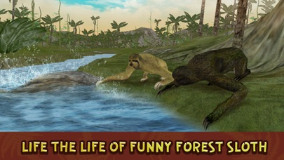 Wild Sloth Forest Survival Simulator 3D Full