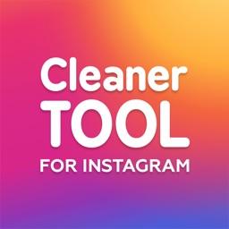 Cleaner Tool - Insta Mass Unfollow Block