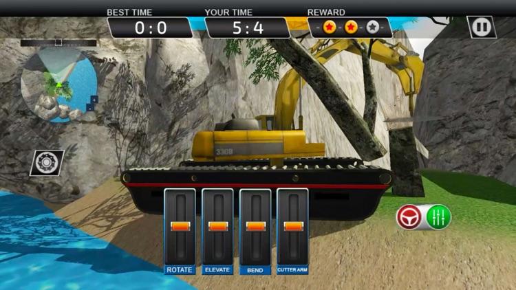 Excavator Crane Simulator & Dump Truck Driver: PRO screenshot-4