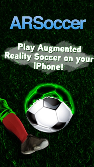 ARSoccer - Augmented Reality Soccer Game Screenshot 1