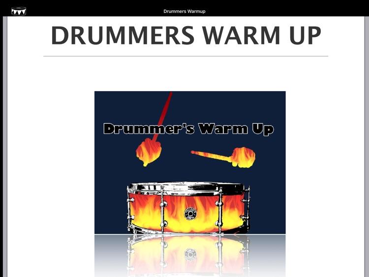 Drummers Warm Up screenshot-3