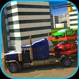 Car Transport Euro Truck 17
