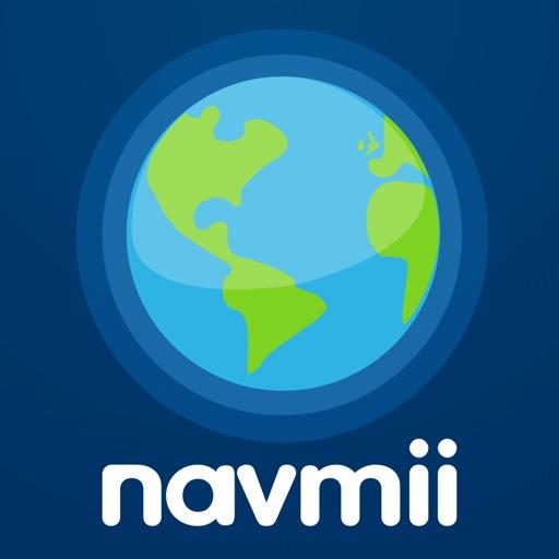 Navmii GPS 葡萄牙: 離線導航與交通流量
