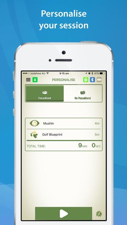 FocusBand NeuroSkill - Golf screenshot-4