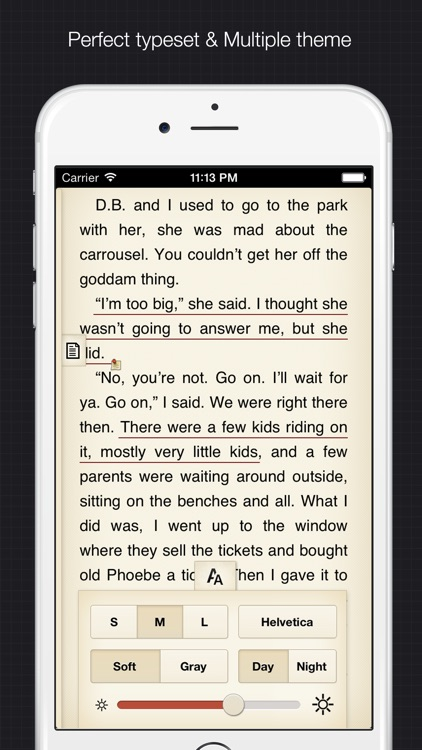 YiBook pro - epub txt  reader screenshot-1