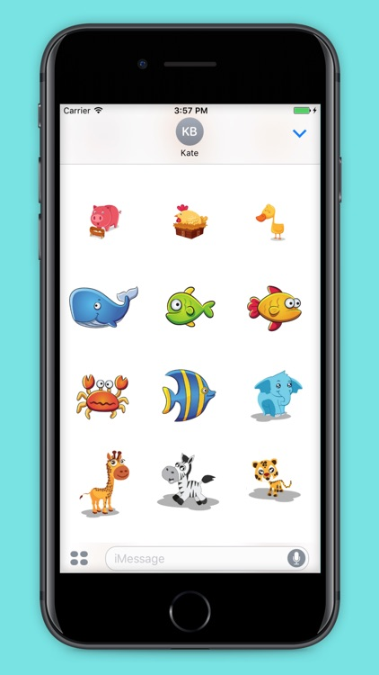 99 Animals Stickers screenshot-4