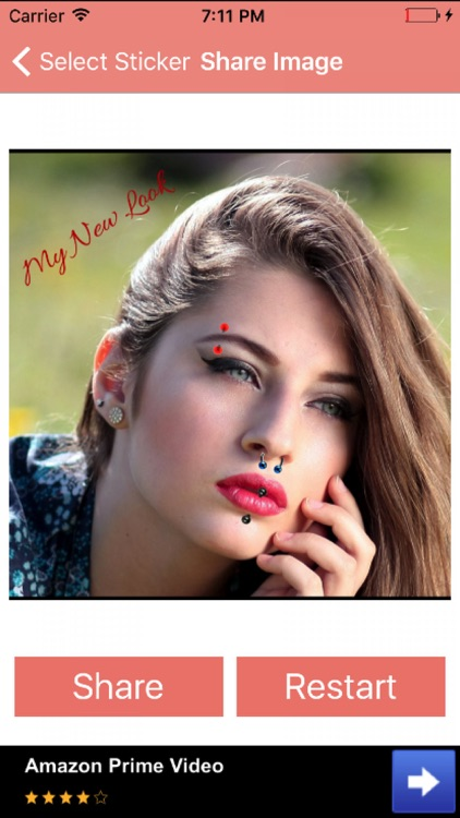 Piercing Studio Booth Photo Maker For Hot Looks