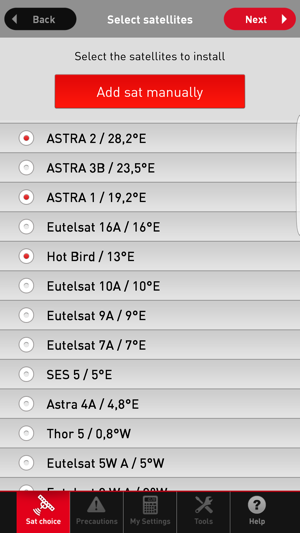 QuickSat on the App Store