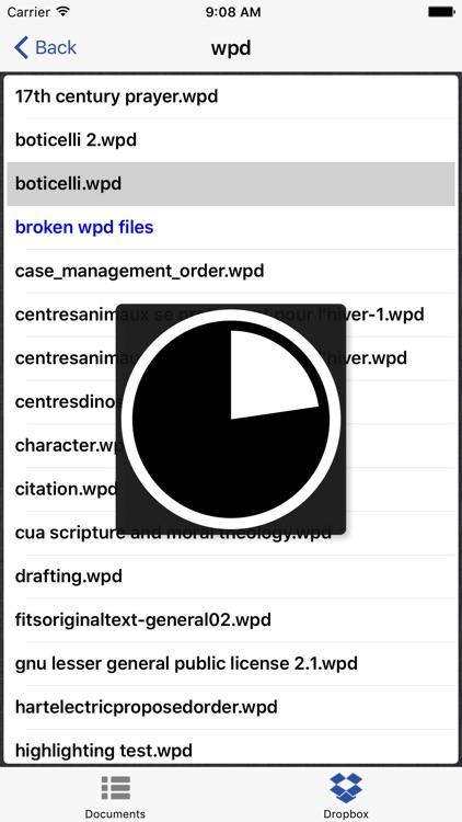 WordPerfect Viewer for iPhone screenshot-3