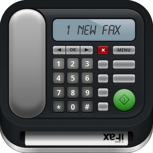 iFax - Send Fax & Receive Fax for iPhone or iPad app logo