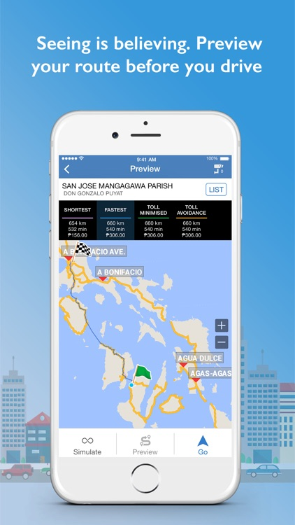 Galactio PH GPS Navigation & Maps screenshot-3