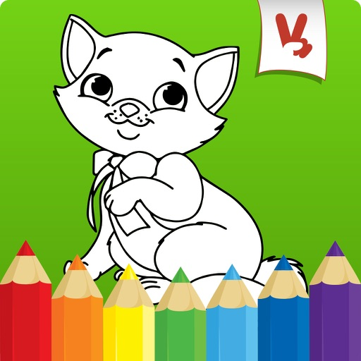 Best coloring book: Animals