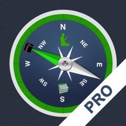 Qibla Compass & Prayer Times PRO