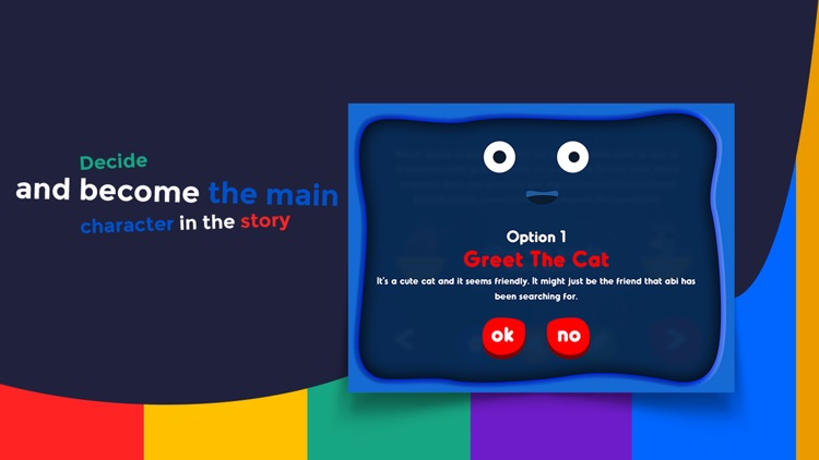 Monster and Cat - Interactive story Play Book game screenshot-4