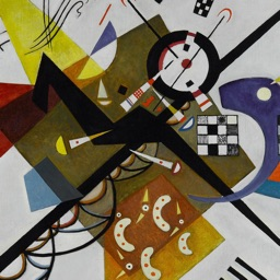 Wassily Kandinsky Artworks Stickers
