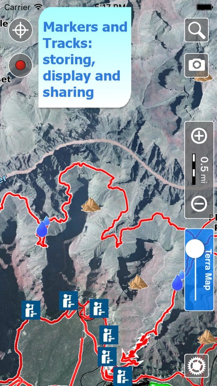 Trails of Grand Canyon NP - GPS Maps for Hiking screenshot-3