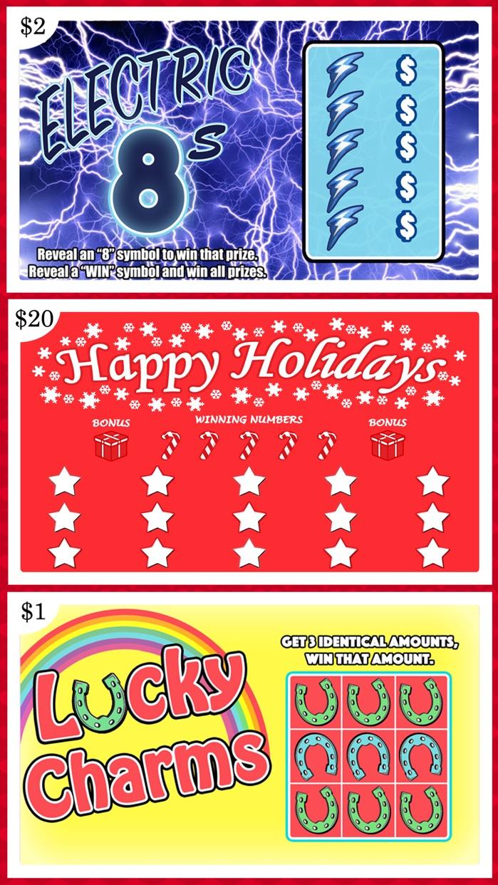 Lottery Scratchers Screenshot