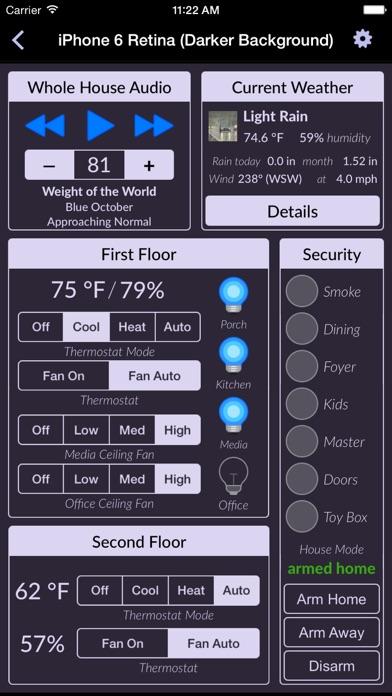 Indigo Touch screenshot four